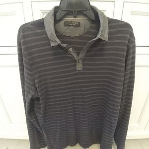 Banana republic luxury touch long sleeve button up